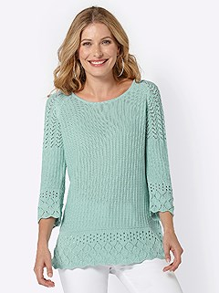 Pattern Trim Sweater product image (420429.MT.4.1_WithBackground)