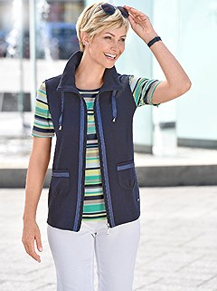 Contrast Trim Vest product image (422039.NV.1.1_WithBackground)