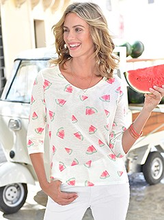 Watermelon Print Sweater product image (422418.WHMU.1.2_WithBackground)