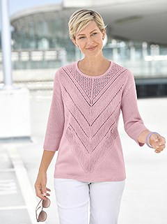 Open Knit Pattern Sweater product image (422663.RS.1.1_WithBackground)