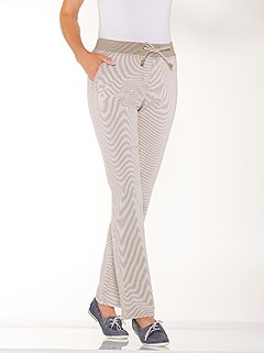 Striped Drawstring Pants product image (423477.BEST.1.1_WithBackground)