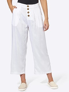 Wide Leg Button Pants product image (425261.WH.2.1_WithBackground)
