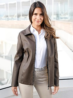 Soft Faux-Leather Jacket product image (426811.TP.2.1_WithBackground)