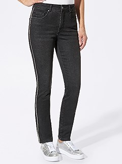 Side Stripe Jeans product image (427890.BKDE.4.1_WithBackground)