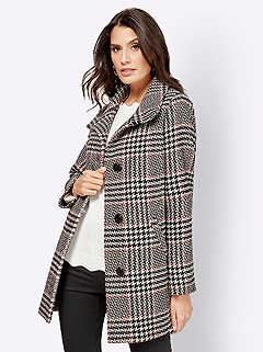 Mix Pattern Jacket product image (428089.BKMU.3.1_WithBackground)