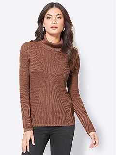 Shimmering Ribbed Texture Sweater product image (428232.CG.3.1_WithBackground)