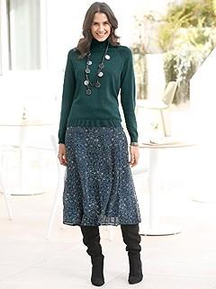 Boho Print Midi Skirt product image (428387.PEMU.1.1_WithBackground)
