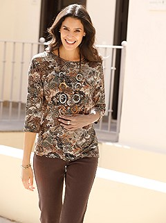 Allover Paisley Print Top product image (428463.BRMU_1)