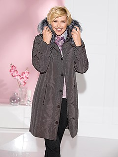 Quilted Faux Fur Hooded Coat product image (428555.CHAR.1.1_WithBackground)