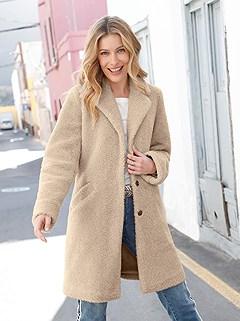 Cozy Teddy Fleece Coat product image (428772.NA.2.1_WithBackground)