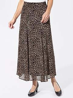 Leopard Maxi Skirt product image (428943.BBPR.4.13_WithBackground)