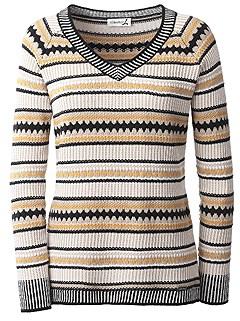 Stripe Mix Sweater product image (429848.ECMU.1.8_WithBackground)