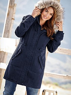 Hooded Parka Style Jacket product image (430261.NV.1.1_WithBackground)