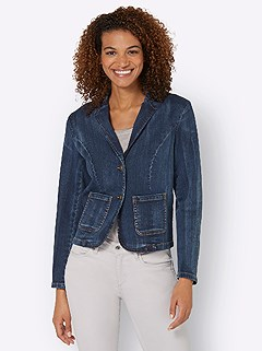 Button Up Denim Jacket product image (431445.BLUS.3.9_WithBackground)