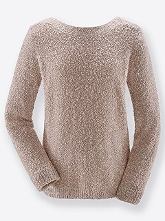 Textured Boucle Sweater product image (431814.RSMO.1.1_WithBackground)