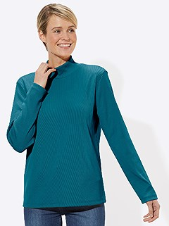 Basic Turtleneck Top product image (433316.AQPE.3.1_WithBackground)
