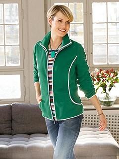 Contrast Hem Cardigan product image (434013.GR.1.1_WithBackground)