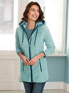 Zip Up Fleece Cardigan product image (434443.PEMU.1S)