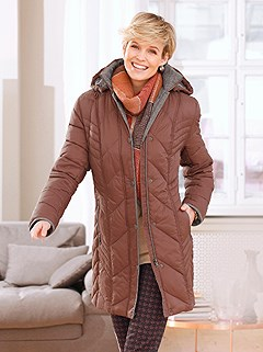 Chevron Quilted Jacket product image (434661.RU.1.1_WithBackground)