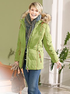 Faux Fur Trim Quilted Jacket product image (434842.GR.1.1_WithBackground)