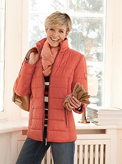 Stand-Up Collar Quilted Jacket product image (435029.RU.1.1_WithBackground)