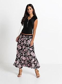 Floral Maxi Skirt product image (438038.BKPA.4.1_WithBackground)