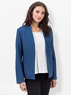 Structured Blazer product image (438125.DEBL.4.1_WithBackground)