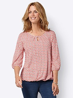 Heart Print Keyhole Top product image (438648.ECPR.3.1_WithBackground)