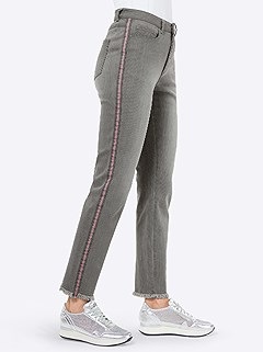 Side Stripe Jeans product image (438738.STGY.3.1_WithBackground)