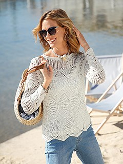 Airy Knit Sweater product image (438808.EC.1.1_WithBackground)