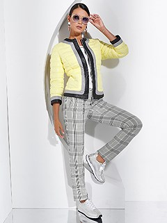 Checkered Pants product image (438926.GYCT.1.1_WithBackground)