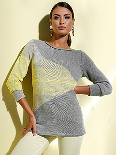 Color Block Sweater product image (439091.GYYL.1.1_WithBackground)