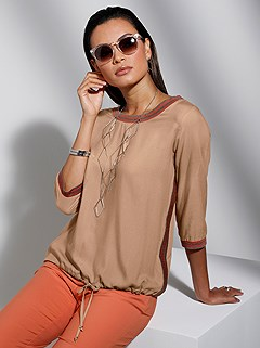 Knitted Band Blouse product image (439220.CA.1M)