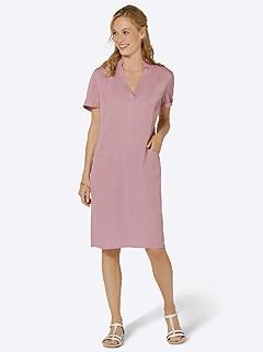 V-Neck Pocket Dress product image (439498.HYDR.3.1_WithBackground)