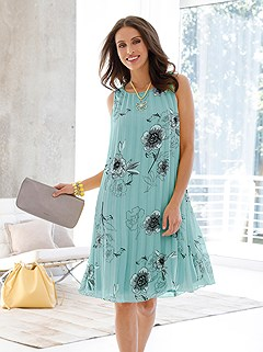 Pleated Floral Dress product image (439715.MTPR_1)