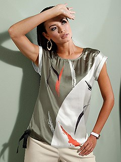 Dropped Shoulder Blouse product image (439720.ECMU.1.1_WithBackground)