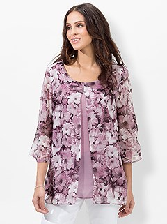 Floral Layered Effect Blouse product image (439799.MVPR.3.1_WithBackground)