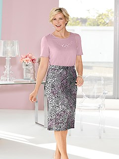 Printed Midi Skirt product image (440922.OCMU.1.8_WithBackground)