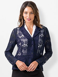 Floral Lace Blazer product image (441046.MTBL.3.1_WithBackground)
