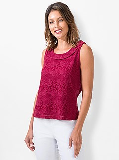 Floral Lace Tank Top product image (441047.RB.3.1_WithBackground)