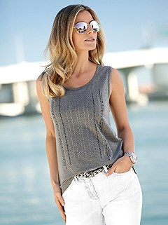 Embellished Tank Top product image (441493.GYMO.4.1_WithBackground)