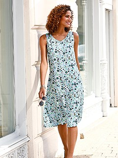 Paisley Print Dress product image (441575.BLPR.1.1_WithBackground)