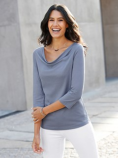 Cowl Neck Top product image (441646.PWBL.1.M)