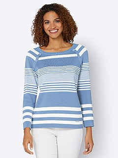 Stripe Mix Sweater product image (441803.BLST.3.1_WithBackground)