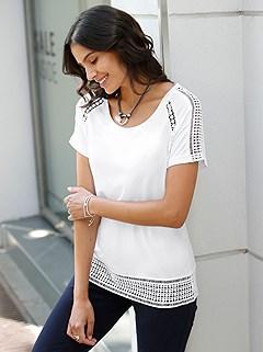 Lace Trim Top product image (441961.WH.1M)
