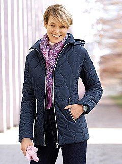 Quilted Pattern Jacket product image (503597.NV.1.1_WithBackground)