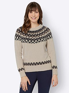Fair Isle Sweater product image (505281.SANV.3.1_WithBackground)