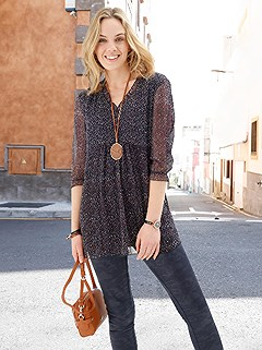 Patterned Tunic product image (505614.NBDT.1.1_WithBackground)