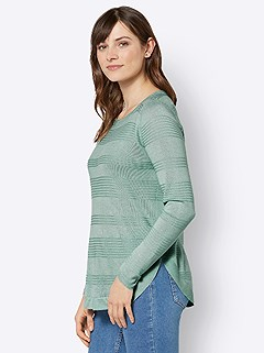 Ribbed Knit Sweater product image (505658.MT.3.7_WithBackground)