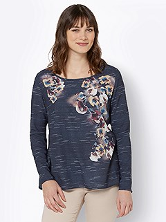 Floral Applique Blouse product image (505699.NVSA.3.1_WithBackground)